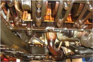 da�os en motores por problemas en el sistema de lubricaci�n